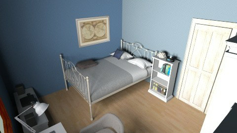My2 - Bedroom - by MarenE