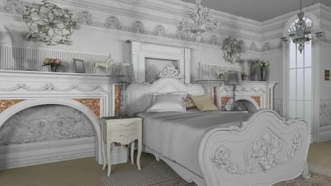 elegante - Glamour - Bedroom - by Siska Natalya