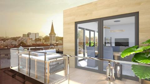 L shape balcony - Modern - by jagwas