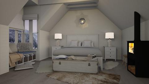Winter bedroom - Bedroom - by Lizzy0715