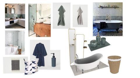 bathroom  - by emilie ram
