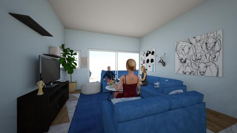 11 LR - Living room - by theddhouse