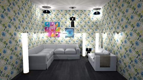 tygythgythgruruururururej - Living room - by  kira