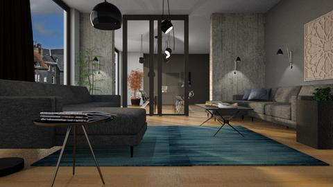 Sliding Doors - Living room - by ZuzanaDesign