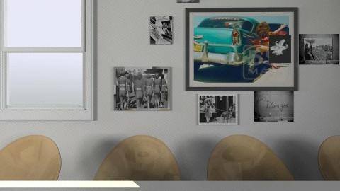first try - Dining room - by Laura van der Meer