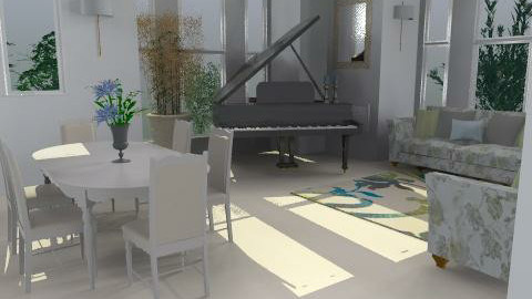 Helens Living Room - Living room - by SylviaAst