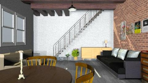 living loft - Retro - Living room - by Veny Mully
