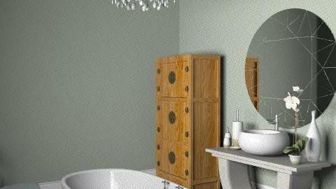 Chandelier Bath - Glamour - Bathroom - by hunny