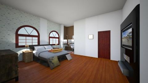 Duhia_Bedroom6 - Modern - Bedroom - by Kyaraema