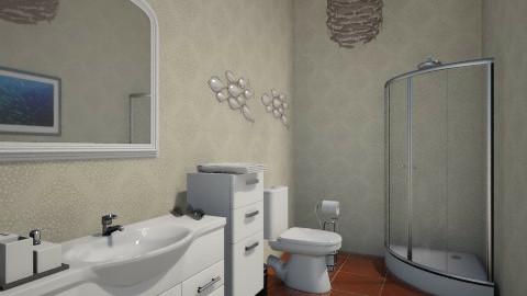 Bathroom with shower - Bathroom - by Flowr