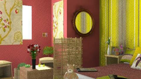 camera nana5 - Retro - Bedroom - by lishyliry