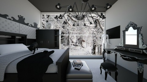 Darker - Bedroom - by blaze001