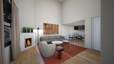 SYLD77 - Living room - by evakarwowska
