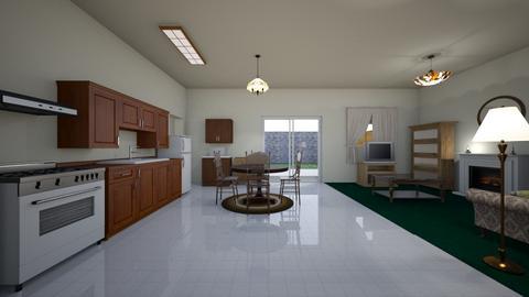 San Diego Home KD - Kitchen - by WestVirginiaRebel