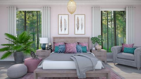 Pink  - Modern - Bedroom - by Zephyrs