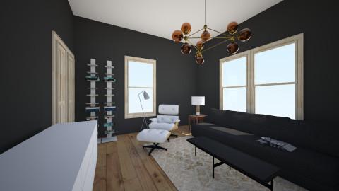 holliday media room - Living room - by sethvdb