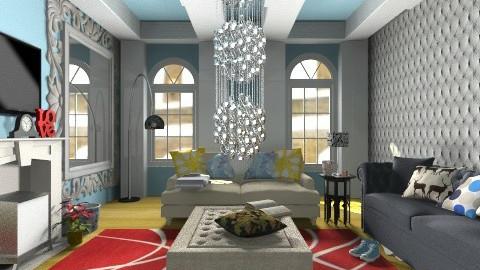 living room - Glamour - Living room - by Georgieex