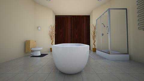Master Bathroom 2 - Bathroom - by karisaluera