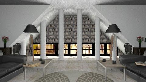 Book discussion club - Modern - Living room - by vovisanija