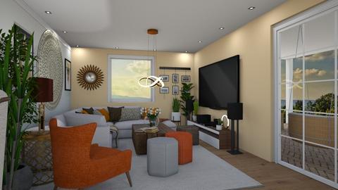 VK Open Space 4 - Living room - by JarkaK