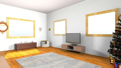 living room 2 - by Aliahamr