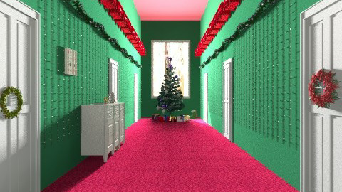 christmas corridor - by marijnv99