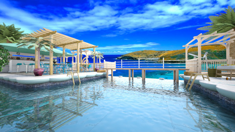 Paradise Resort - Modern - Garden - by evahassing