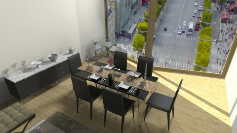 Dining - Modern - Dining room - by anadab