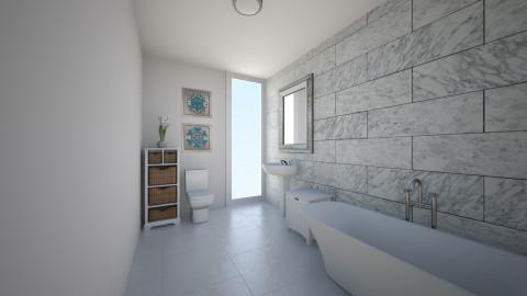 br1 - Bathroom - by teen bedroom
