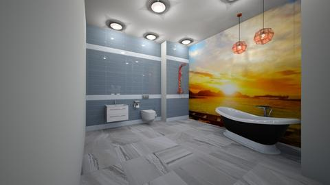 Sunny Side Of Showers - Bathroom - by jaiden2006