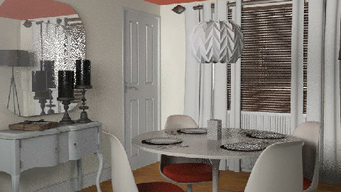 t18- Hint of retro - Retro - Dining Room - by gingerpantz
