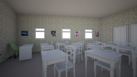 School room 7 to 12 - by Amie Warren