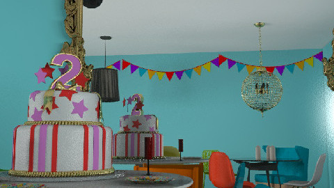 Happy 2nd Birthday mydeco - Dining Room - by jenrooms