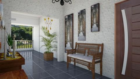 Apartamento Single - Glamour - Living room - by Mariesse Paim