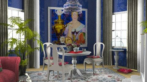 tea - Vintage - Living room - by chania