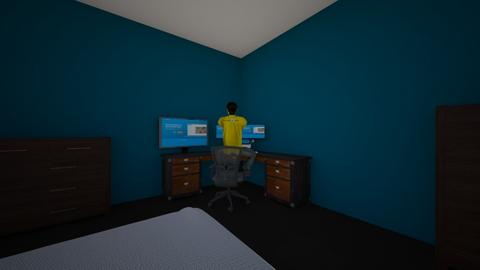 gamer - Bedroom - by pedro239