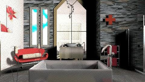 Rouge touches - Glamour - Bathroom - by mrschicken