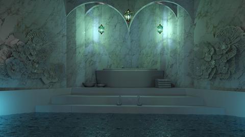 Swan Bath - Bathroom - by Twilight Tiger
