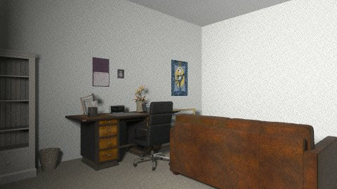 My house - Retro - Office - by scottlee45