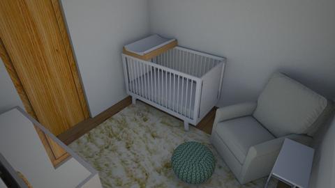 Nursery 1 - Kids room - by nikhayes