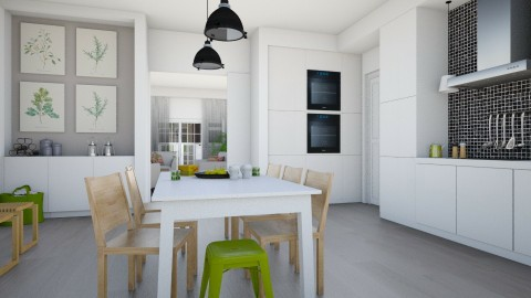 Classic Dutch House - Kitchen - by Tuitsi