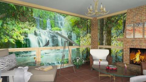Arboreal Retreat 2 - Eclectic - Garden - by Theadora