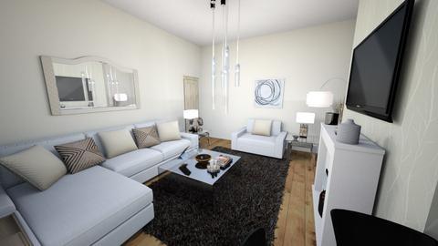 Beige Living Room - by Charrosedriver99