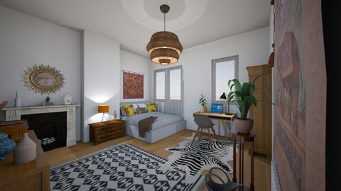 Bedroom - Eclectic - Bedroom - by klala