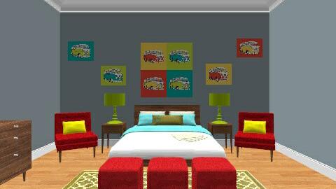 vw - Modern - Bedroom - by secretsunny