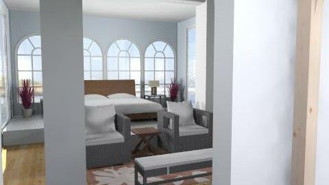 Laura Porter - Modern - Bedroom - by phatpiggy13