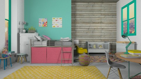kids room - Kids room - by neta1