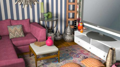 Modern Patchwork - Eclectic - Living room - by amanda89ab