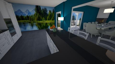 salon - Living room - by pasja_