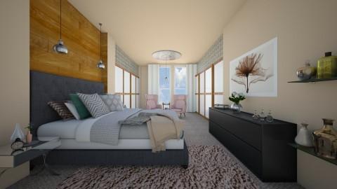 master suite - Bedroom - by stephaniedelios1992